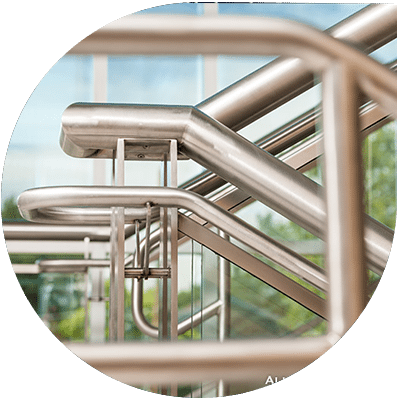architectural metal staircase