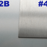 2B vs. No. 4 Stainless Steel Finish