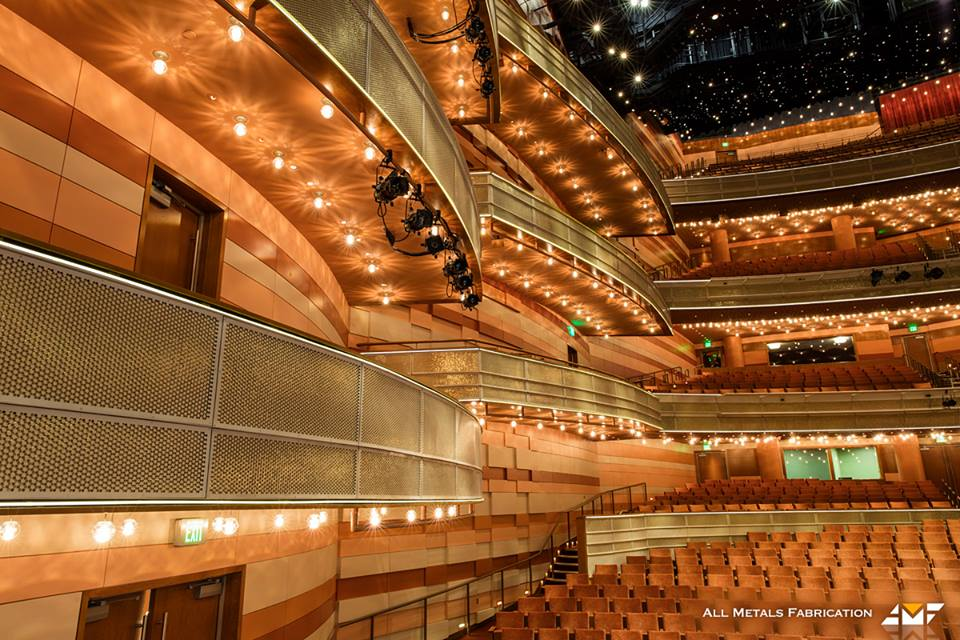 All Metals Fabrication Projects Utah Performing Arts Center