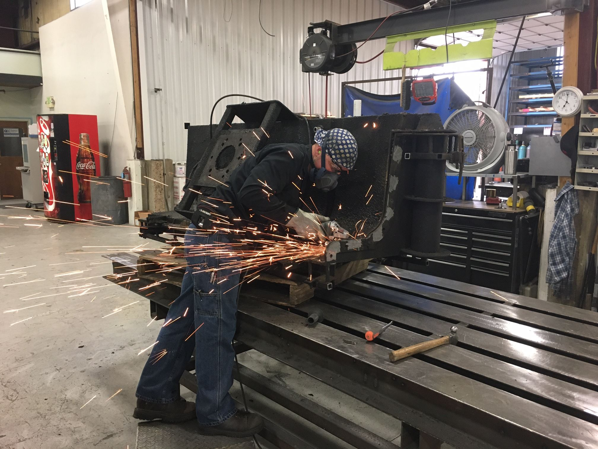 AMF Blog team at work | Metal Fabrication Utah