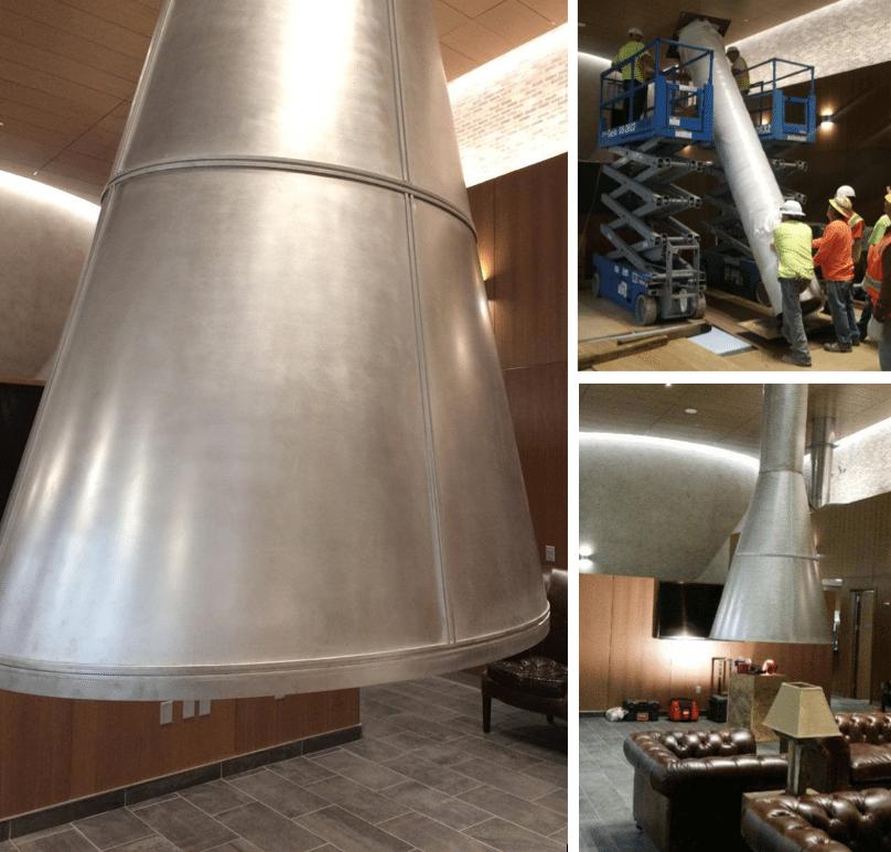 All Metals Fabrication Projects University of Utah Metal Hood