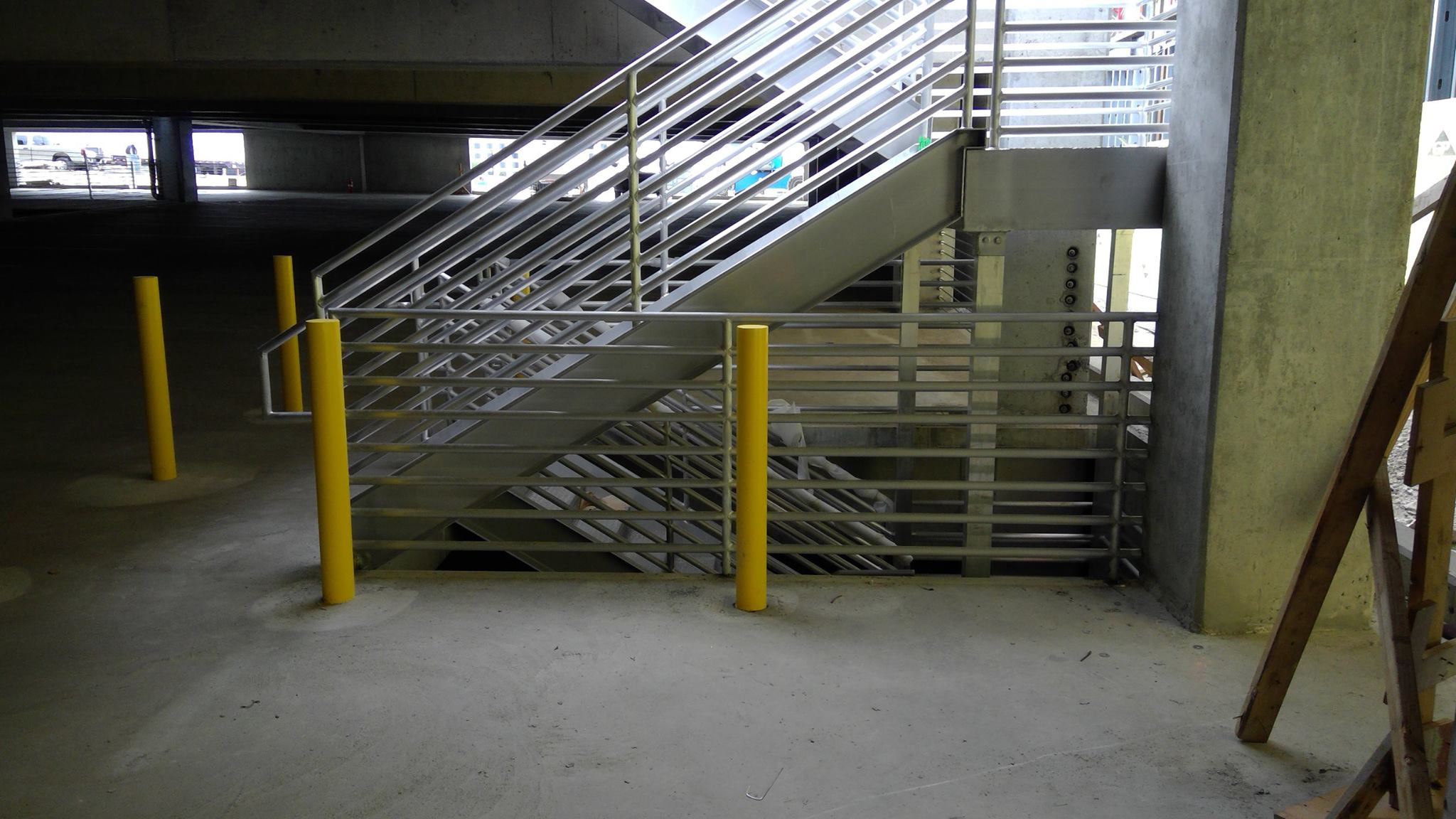 SOJO station AMF metal stair railing All Metals Fabrication Projects