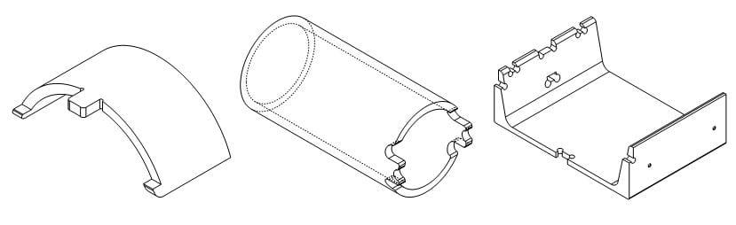 tube laser parts